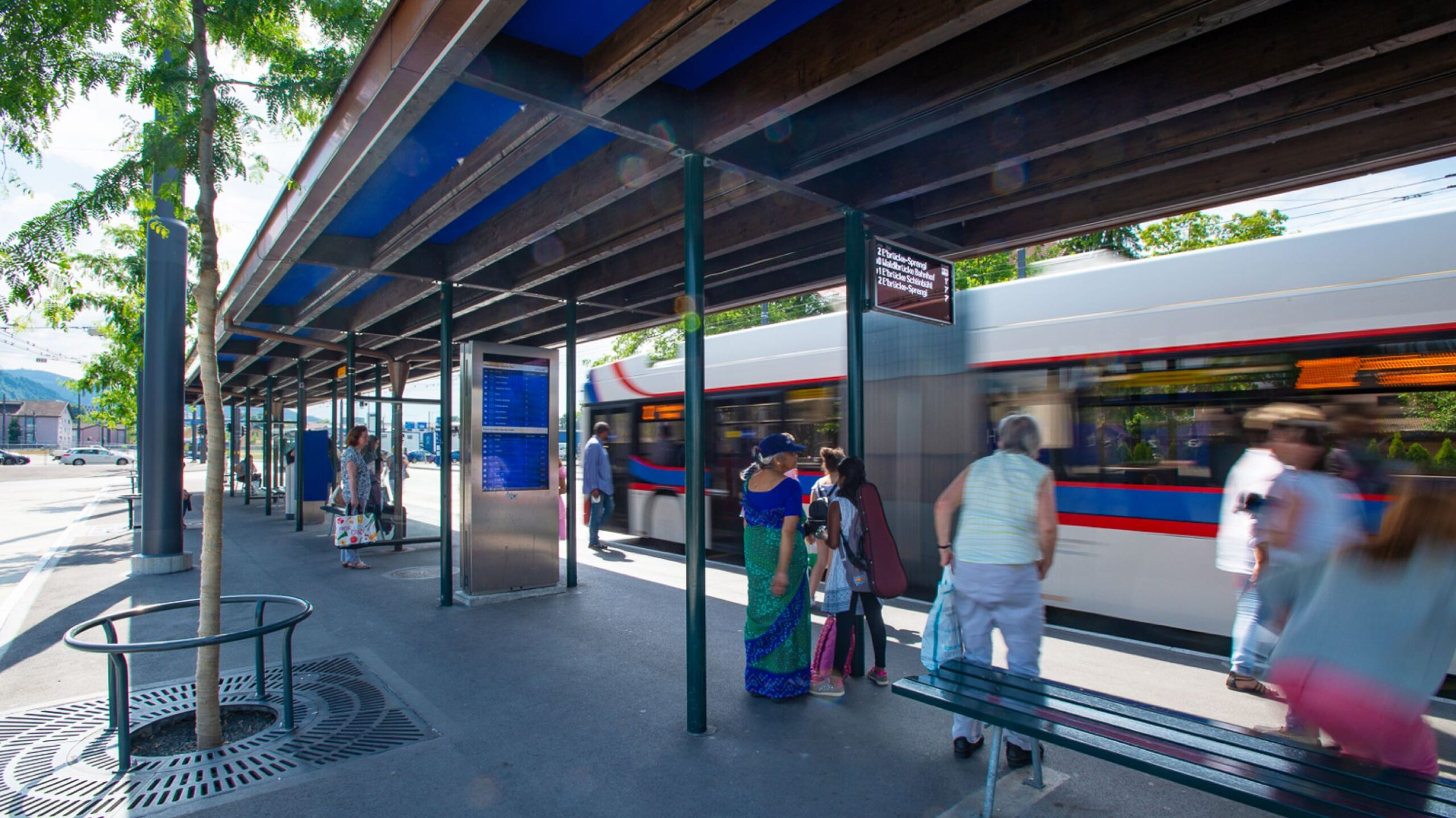 Busbahnhof in Emmenbrücke